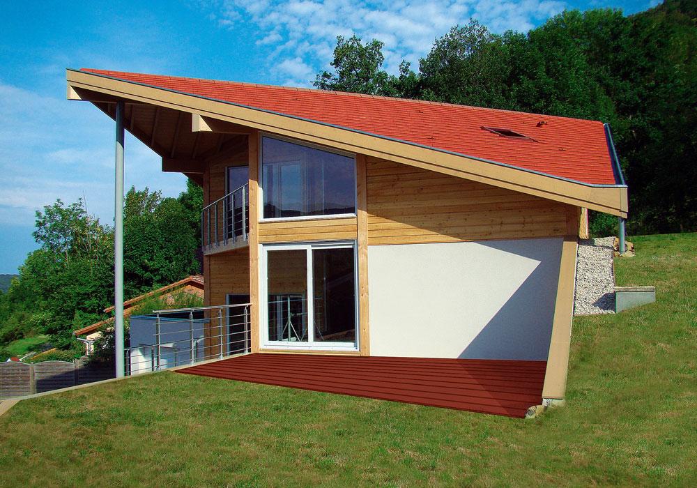 Wood mountain promoteur en habitat bioclimatique bois for Promoteur maison bois