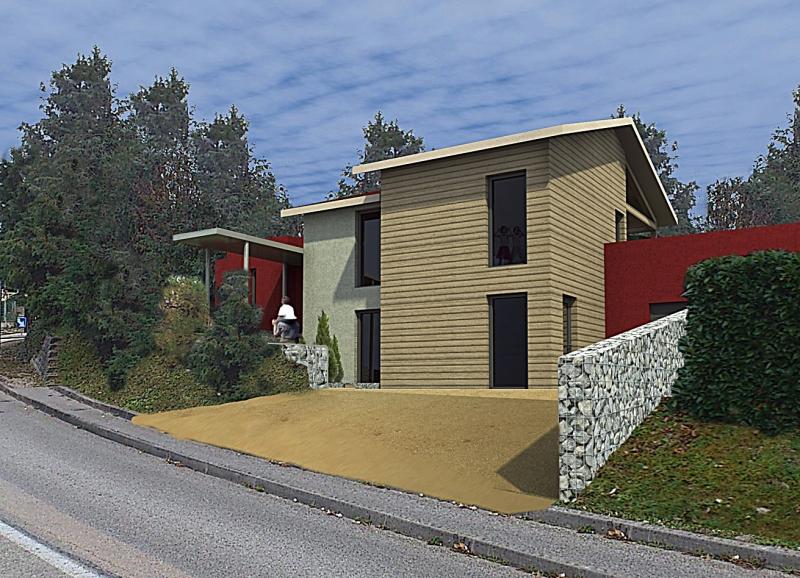 Maison bbc wood mountain promoteur en habitat for Promoteur maison bois
