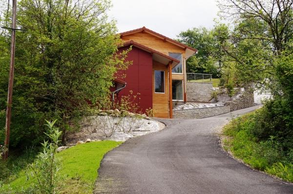 posafol le village wood mountain promoteur en habitat bioclimatique bois. Black Bedroom Furniture Sets. Home Design Ideas
